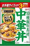 DONBURI亭 3食パック 中華丼