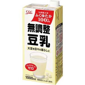 無調整豆乳(九州産大豆使用)