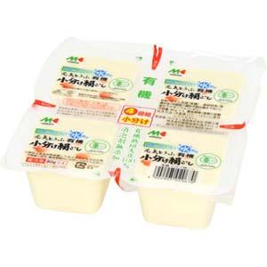 元気とうふ有機小分け絹ごし豆腐